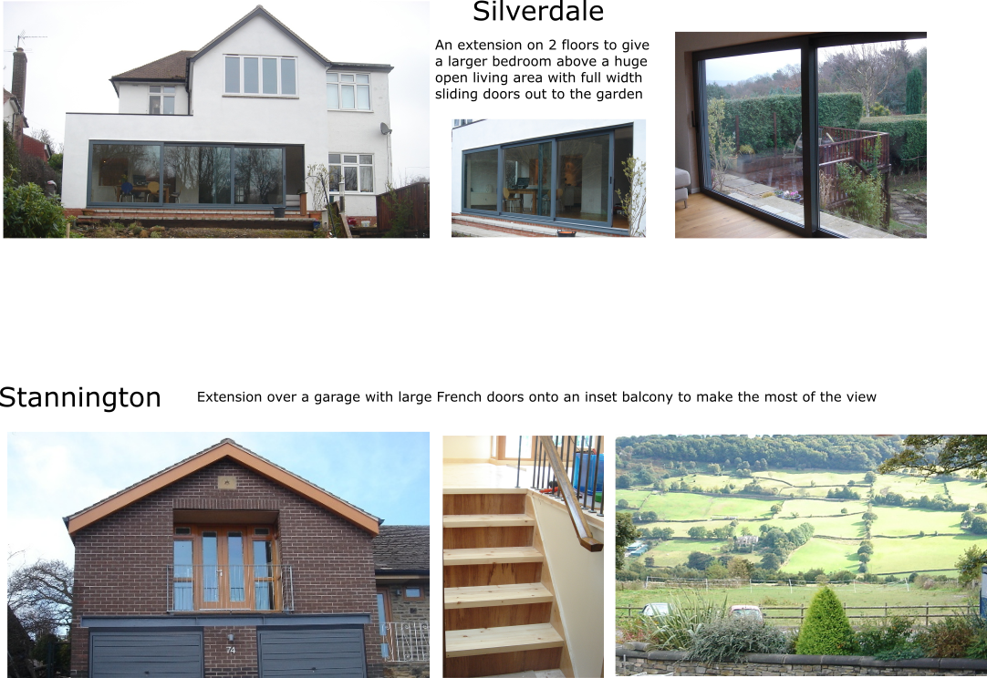 Various projects. Sector: Domestic. Various clients.