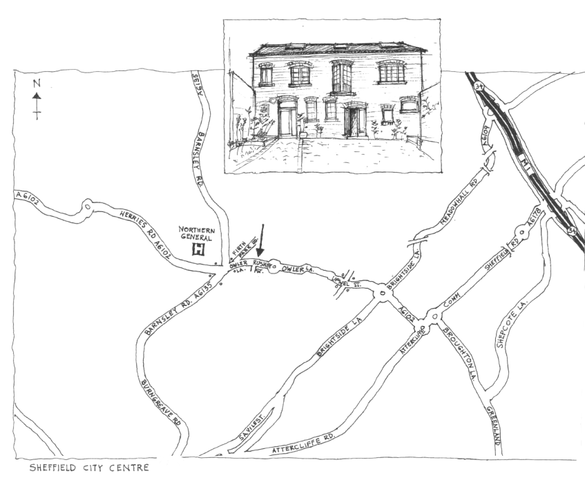 43 Rushby Street map